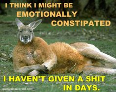 I think I might emotionally constipated...  #joke #jokes http://medicalcareersite.com/2011/03/medical-jokes-funny-mistakes.html