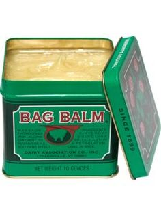 bag balm! available at drugstores...$10 bucks and it lasts a LONG time. Great for hands, feet, elbows, lips.....