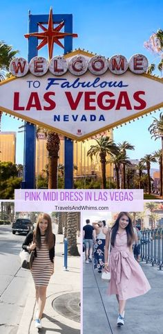 Here are two of my pink midi dresses collection that I brought to Las Vegas. They are perfect for the comfortably warm Vegas weather this time of the year. Las Vegas Weather, Vintage Street Fashion, Pink Midi Dress, Travel Style, Travel Fashion, Summer Outfits Women, Gypsy Style, Frocks, Nevada