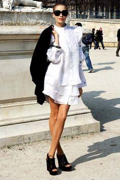 elena perminova street style - Google Search