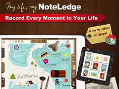 NoteLedge For iPad App FREE - April 20 Take notes, sketch, audio, and video recording