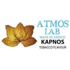 KAPNOS TOBACCO 10 ml ATMOS LAB VG only www.nexxton-ecig.com Lab, Labs