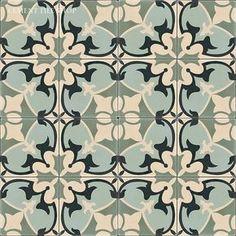 Beautiful patterned tiles that make an impact via @avenuelaurel