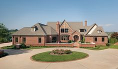 Brick offers unlimited style and personality options. Features such as a Flemish bond pattern, diamond accent pattern and herringbone brick pattern add visual interest, and elements like a soldier course water table and accent band finish the look. http://insistonbrick.com/.