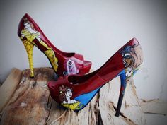 love these Beauty and the Beast heels