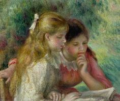 Pierre Auguste Renoir - The Reading, c.1890-95