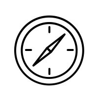 Iphone App Design, Ios Design, App Icon Design, Compass App, Compass Icon, Whatsapp Logo, Snapchat Icon, Minimalist Icons, Apple Logo Wallpaper Iphone