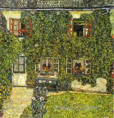 Gustav Klimt - Forests House in Weissenbach on the Attersee 1914