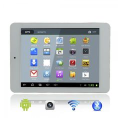 "YOUZEN A86 8"" Capacitive Touch Screen Dual-Core IMAPX15 Android 4.1 8G Tablet PC with Camera White.  Click on the Tmart link on MomTheShopper.com"