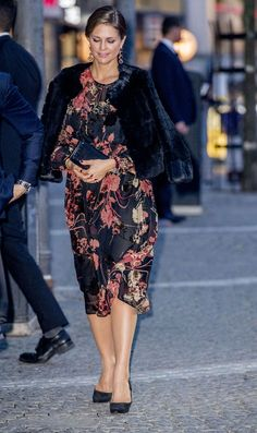 Princess Madeleine of Sweden attends a concert at Stockholm Concert Hall in connection with the Opening of the Parliamentary Session on 12 September 2017.