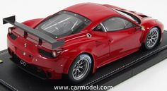 BBR-MODELS P1853 1/18 FERRARI 458 ITALIA GT2 GTE PRO NEW ENGINE 2011