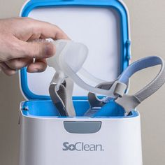 The world's first automated CPAP cleaner and sanitizer!  #SoClean #SleepApnea #CPAP #Clean #KillGerms #Healthy