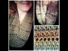 Ravelry: Archway Infinity Dress Scarf pattern by Colleen Hays Crochet Beanie, Crochet Shawl, Crochet Yarn, Easy Crochet, Free Crochet, Crochet Stitches, Scarf Dress, Infinity Dress, Crochet Videos