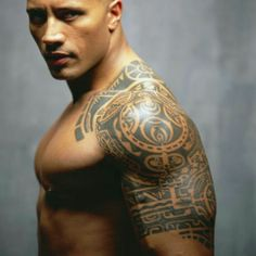 Not the rock, but his tattoo like that stlye of art work for a tattoo