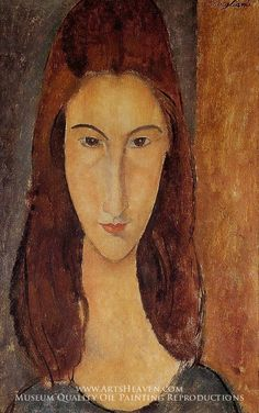 Jeanne Hebuterne, Modigliani's greatest love, was the inspiration for many of his best painting.