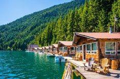 Best Lodges in National Parks Around the U. The Best Lodges to Stay at in U. National ParksThe Best Lodges to Stay at in U. National Park Lodges, Cascade National Park, North Cascades National Park, Us National Parks, Best Places To Travel, Oh The Places You'll Go, Places To Visit, Vacation Trips, Dream Vacations