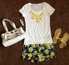 Summer outfit created by missmadisonsmom@aol.com