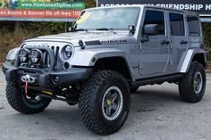 Jeep Wrangler Rubicon Unlimited for Sale in Billet! - Vehicles