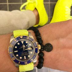 Brighten up your day | Shield Onyx Bracelet in Titanium Black | Buy now https://marcosdeandrade.com/product/classic-shield-onyx-bracelet-with-titanium-black/ #MarcosdeAndrade #louboutin #rolex
