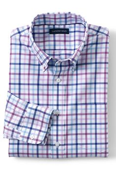 Men's No Iron Twill Shirt
