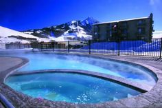 Chateaux condos pool, where we lounged summer and winter while living there.