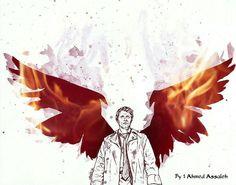 Angles Theme.  #Angels #wings #theme #wings #fallenangel #fallen #castiel #supernatural #sam #dean #michacollins  #crowley #lucifer #mazikeen #Bible #christmastree #love #feathers #alpha #mystery #beauty #new #life #likeforlike #followforfollow #religion #photooftheday #pixler #picsart #flames #art.