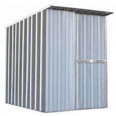 EasySHED Skillion Roof 1.50m x 1.90m Single Door Zinc Shed | Cheap Sheds