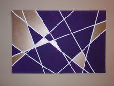 wall painting ideas geometric