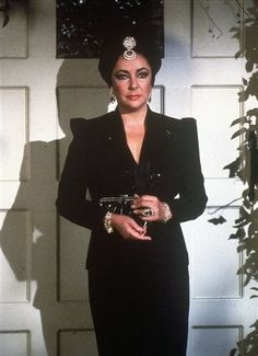 Elizabeth Taylor as Helena Cassadine on General Hospital #GH50. Taylor was a big fan of General Hospital and donated her earnings from her five day guest appearance to two hospitals.
