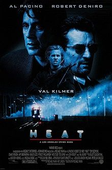 heat is a 1995 american crime film written co produced and directed rh pinterest com