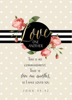 size: Art Print: Love One Another II by Tammy Apple : Bible Verses About Love, Favorite Bible Verses, Bible Verses Quotes, Bible Scriptures, Biblical Quotes, Prayer Quotes, Religious Quotes, Scripture Verses, Faith Quotes