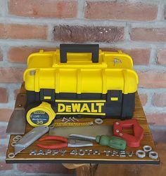 Dewalt toolbox tool cake ☺