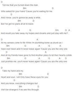 Ed Sheeran One Chords