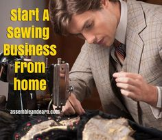 Why this is a great time to start your own sewing business from home.