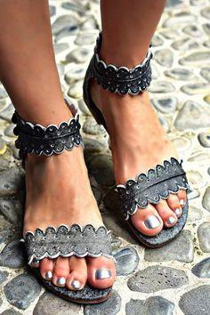 26e2122404e1 Seaside Leather Sandals