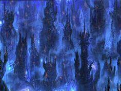 Zero One, the machine city. The Matrix (1999)