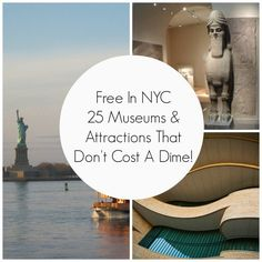 As a New Yorker I LOVE finding list like this cause i get to explore my own city on a budget and still have fun with the family. New York Vacation, New York City Travel, New York City Museums, Museums In Nyc, Visit New York City, Brooklyn, Places To Travel, Places To Visit, Travel Stuff