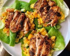 Tavuk Marul #sarar Turkey Recipes, Mango, Chicken, Meat, Food, Manga, Hoods, Meals, Kai