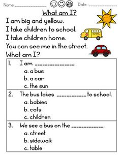 Inference Reading Riddles by Rock Paper Scissors First Grade Reading Comprehension, Phonics Reading, Reading Comprehension Worksheets, Reading Passages, Kindergarten Reading, Teaching Reading, Comprehension Strategies, Reading Response, Learning