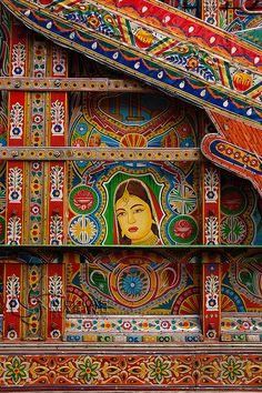 indian truck art