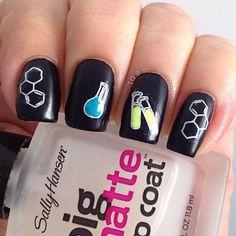Lab Beaker Nails