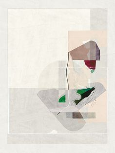 Abstract composition 424 Giclee print - 107 x142 cm Limited edition (20) http://etsy.me/13NbahR www.jesusperea.com