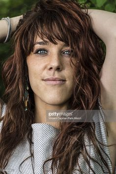 Singer Isabelle Geffroy aka known as Zaz is photographed for Paris Match on May 9, 2013 in Berlin, Germany.
