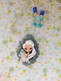 fairy necklace elsa por lapetitedeco en Etsy