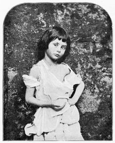 Alice Liddell poses for a portrait taken by the author.