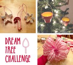 Thinking Outside The Ornament Box!  Holiday Dream Tree Challenge and Giveaway!