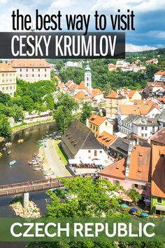 The beautiful town of Cesky Krumlov is one of the best things to do in the Czech Republic. It's a great day trip from Prague but is also worth an overnight stay. Here's what to expect and the best way to visit Cesky Krumlov in the Czech Republic.