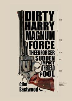 Clint Eastwood - Dirty Harry by newrobotz.deviantart.com