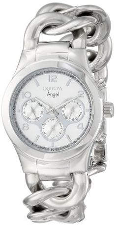 Invicta Women's 15139 Angel Silver Dial Stainless Steel Watch Invicta,http://www.amazon.com/dp/B00FALQ2EW/ref=cm_sw_r_pi_dp_gd4Wsb1NR1Z97P2Z
