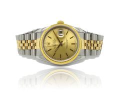 Two-Tone Rolex Watch, available at Francis Jewellers in Victoria BC, pre-owned